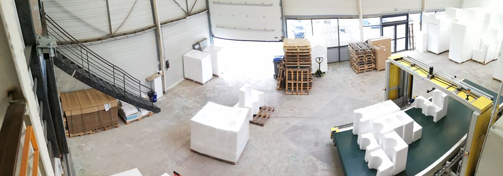 atelier découpe polystyrène expansé extrudé