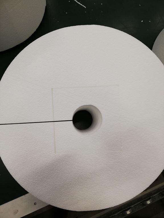 decoupe bloc polystyrene