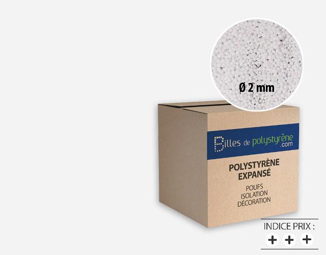 Billes de polystyrène 2mm