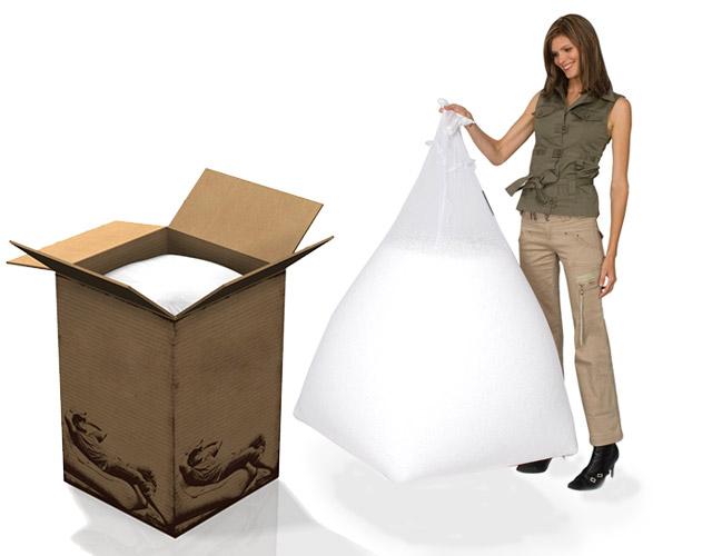 Remplissage poufs polystyrène